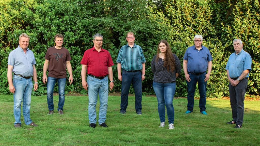 Gruppenbild der Kandidaten