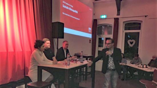 von links: Sarah Ryglewski, Pascal Seidel, Matthias Miersch und Ingo Estermann
